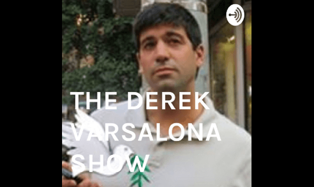 THE DEREK VARSALONA SHOW on the New York City Podcast Network