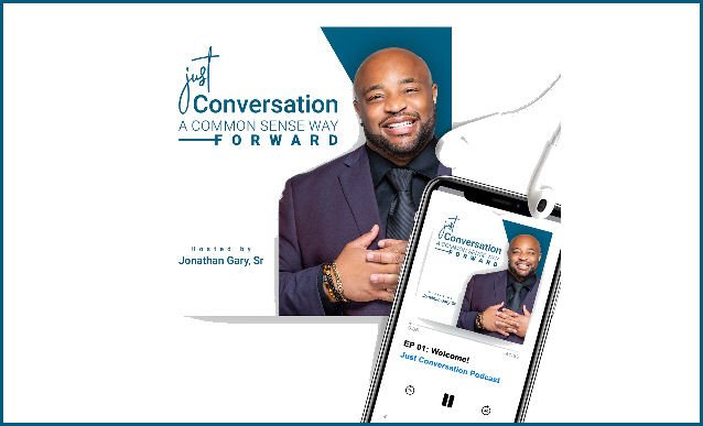 Just Conversations, A Common Sense Way Forward on the New York City Podcast Network