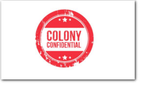 Podcast Episodes for Colony Confidential